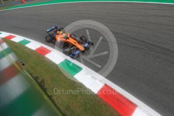 World © Octane Photographic Ltd. Formula 1 – Italian GP - Qualifying. McLaren MCL34 – Lando Norris. Autodromo Nazionale Monza, Monza, Italy. Saturday 7th September 2019.