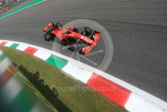World © Octane Photographic Ltd. Formula 1 – Italian GP - Qualifying. Scuderia Ferrari SF90 – Charles Leclerc. Autodromo Nazionale Monza, Monza, Italy. Saturday 7th September 2019.