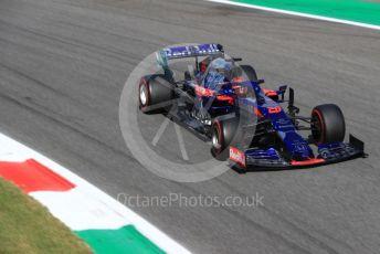 World © Octane Photographic Ltd. Formula 1 – Italian GP - Qualifying. Scuderia Toro Rosso STR14 – Daniil Kvyat. Autodromo Nazionale Monza, Monza, Italy. Saturday 7th September 2019.