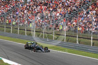 World © Octane Photographic Ltd. Formula 1 – Italian GP - Qualifying. Mercedes AMG Petronas Motorsport AMG F1 W10 EQ Power+ - Lewis Hamilton. Autodromo Nazionale Monza, Monza, Italy. Saturday 7th September 2019.
