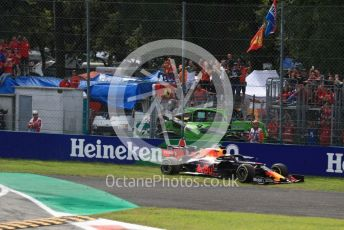World © Octane Photographic Ltd. Formula 1 – Italian GP - Race. Aston Martin Red Bull Racing RB15 – Max Verstappen. Autodromo Nazionale Monza, Monza, Italy. Sunday 8th September 2019.