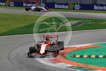 World © Octane Photographic Ltd. Formula 1 – Italian GP - Race. Scuderia Ferrari SF90 – Sebastian Vettel. Autodromo Nazionale Monza, Monza, Italy. Sunday 8th September 2019.