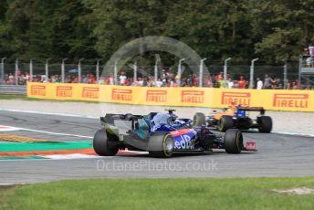 World © Octane Photographic Ltd. Formula 1 – Italian GP - Race. Scuderia Toro Rosso - Pierre Gasly. Autodromo Nazionale Monza, Monza, Italy. Sunday 8th September 2019.