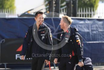 World © Octane Photographic Ltd. Formula 1 – Italian GP - Paddock. Aston Martin Red Bull Racing RB15 – Alexander Albon. Autodromo Nazionale Monza, Monza, Italy. Saturday 7th September 2019.