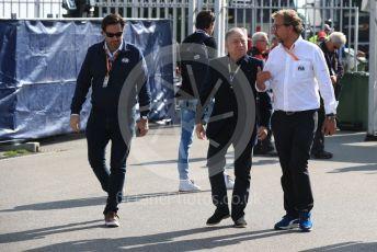 World © Octane Photographic Ltd. Formula 1 - Italian GP - Paddock. Jean Todt – President of FIA. Autodromo Nazionale Monza, Monza, Italy. Saturday 7th September 2019.