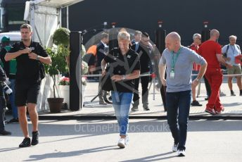 World © Octane Photographic Ltd. Formula 1 – Italian GP - Paddock. Rich Energy Haas F1 Team VF19 – Kevin Magnussen. Autodromo Nazionale Monza, Monza, Italy. Saturday 7th September 2019.