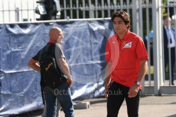 World © Octane Photographic Ltd. Formula 1 - Italian GP - Paddock. Giuliano Alesi - Ferrari Driver Academy. Autodromo Nazionale Monza, Monza, Italy. Saturday 7th September 2019.