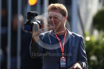 World © Octane Photographic Ltd. Formula 1 - Italian GP - Paddock. Nico Rosberg. Autodromo Nazionale Monza, Monza, Italy. Sunday 8th September 2019.