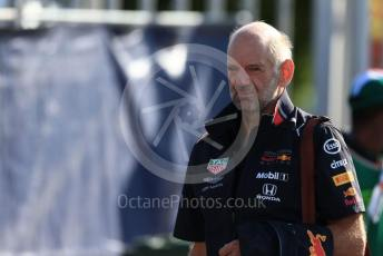 World © Octane Photographic Ltd. Formula 1 - Italian GP - Paddock. Adrian Newey - Chief Technical Officer of Red Bull Racing. Autodromo Nazionale Monza, Monza, Italy. Sunday 8th September 2019.