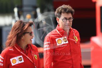 World © Octane Photographic Ltd. Formula 1 - Italian GP - Paddock. Mattia Binotto – Team Principal of Scuderia Ferrari. Autodromo Nazionale Monza, Monza, Italy. Thursday 4th September 2019.