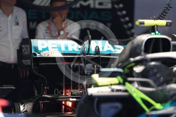 World © Octane Photographic Ltd. Formula 1 - Italian GP - Pit lane. Mercedes AMG Petronas Motorsport AMG F1 W10 EQ Power+ . Autodromo Nazionale Monza, Monza, Italy. Thursday 4th September 2019.