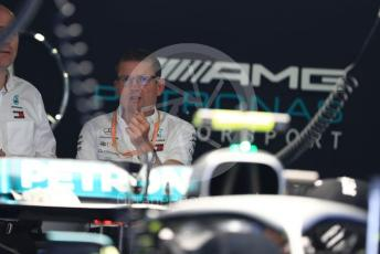 World © Octane Photographic Ltd. Formula 1 - Italian GP - Pit lane. Andy Cowell - Managing Director of Mercedes AMG High Performance Powertrains. Autodromo Nazionale Monza, Monza, Italy. Thursday 4th September 2019.