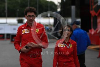 World © Octane Photographic Ltd. Formula 1 - Italian GP - Paddock. Mattia Binotto – Team Principal of Scuderia Ferrari. Autodromo Nazionale Monza, Monza, Italy. Friday 6th September 2019.