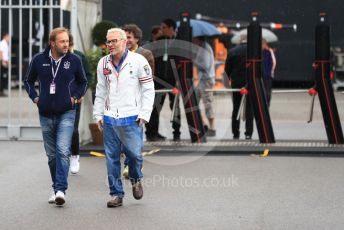 World © Octane Photographic Ltd. Formula 1 - Italian GP - Paddock. Jacques Villeneuve. Autodromo Nazionale Monza, Monza, Italy. Friday 6th September 2019.