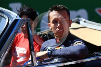 World © Octane Photographic Ltd. Formula 1 – Japanese GP - Drivers' Parade. Aston Martin Red Bull Racing RB15 – Alexander Albon. Suzuka Circuit, Suzuka, Japan. Sunday 13th October 2019.