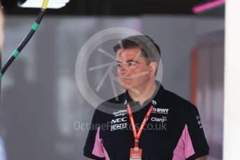 World © Octane Photographic Ltd. Formula 1 - Singapore GP - Paddock. Andy Stevenson – Sporting Director at SportPesa Racing Point. Suzuka Circuit, Suzuka, Japan. Thursday 10th October 2019.