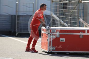 World © Octane Photographic Ltd. Formula 1 – Japanese GP - Paddock. Ferrari new parts delivery. Suzuka Circuit, Suzuka, Japan. Thursday 10th October 2019.