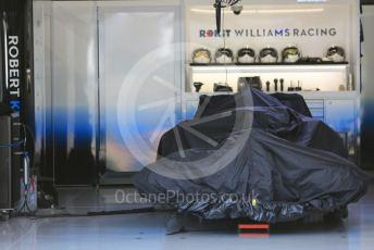 World © Octane Photographic Ltd. Formula 1 – Japanese GP - Paddock. ROKiT Williams Racing FW42 – Robert Kubica. Suzuka Circuit, Suzuka, Japan. Thursday 10th October 2019.