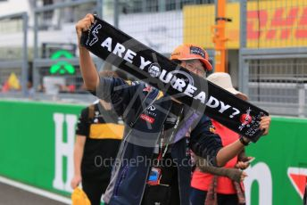 World © Octane Photographic Ltd. Formula 1 – Japanese GP - Paddock. Scuderia Fans in the Pitlane. Suzuka Circuit, Suzuka, Japan. Thursday 10th October 2019.