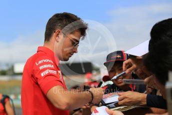 World © Octane Photographic Ltd. Formula 1 – Japanese GP - Paddock. Scuderia Ferrari SF90 – Charles Leclerc. Suzuka Circuit, Suzuka, Japan. Thursday 10th October 2019.