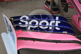 World © Octane Photographic Ltd. Formula 1 – Japanese GP - Parc Ferme. SportPesa Racing Point RP19 . Suzuka Circuit, Suzuka, Japan. Thursday 10th October 2019.