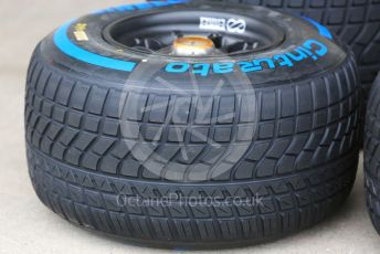 World © Octane Photographic Ltd. Formula 1 – Japanese GP - Paddock. Pirelli full wet tyre. Suzuka Circuit, Suzuka, Japan. Thursday 10th October 2019.