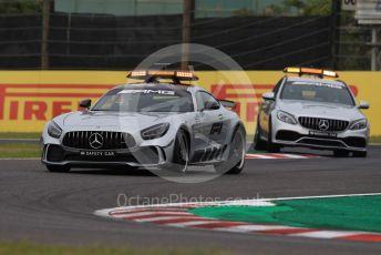 World © Octane Photographic Ltd. Formula 1 – Japanese GP - Practice 1. Mercedes AMG Safety and Medical cars. Suzuka Circuit, Suzuka, Japan. Friday 11th October 2019.