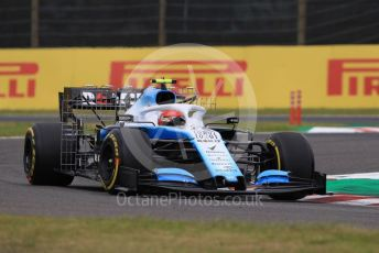World © Octane Photographic Ltd. Formula 1 – Japanese GP - Practice 1. ROKiT Williams Racing FW42 – Robert Kubica. Suzuka Circuit, Suzuka, Japan. Friday 11th October 2019.