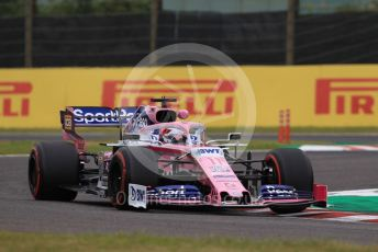 World © Octane Photographic Ltd. Formula 1 – Japanese GP - Practice 1. SportPesa Racing Point RP19 - Sergio Perez. Suzuka Circuit, Suzuka, Japan. Friday 11th October 2019.