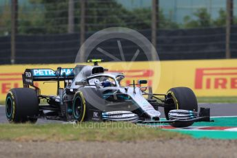 World © Octane Photographic Ltd. Formula 1 – Japanese GP - Practice 1. Mercedes AMG Petronas Motorsport AMG F1 W10 EQ Power+ - Valtteri Bottas. Suzuka Circuit, Suzuka, Japan. Friday 11th October 2019.