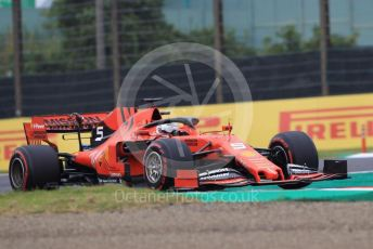 World © Octane Photographic Ltd. Formula 1 – Japanese GP - Practice 1. Scuderia Ferrari SF90 – Sebastian Vettel. Suzuka Circuit, Suzuka, Japan. Friday 11th October 2019.