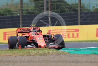 World © Octane Photographic Ltd. Formula 1 – Japanese GP - Practice 1. Scuderia Ferrari SF90 – Charles Leclerc. Suzuka Circuit, Suzuka, Japan. Friday 11th October 2019.