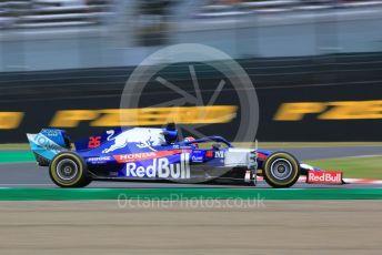 World © Octane Photographic Ltd. Formula 1 – Japanese GP - Practice 1. Scuderia Toro Rosso STR14 – Daniil Kvyat. Suzuka Circuit, Suzuka, Japan. Friday 11th October 2019.