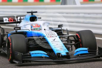 World © Octane Photographic Ltd. Formula 1 – Japanese GP - Practice 1. ROKiT Williams Racing FW 42 – George Russell. Suzuka Circuit, Suzuka, Japan. Friday 11th October 2019.