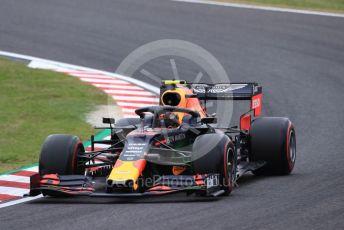 World © Octane Photographic Ltd. Formula 1 – Japanese GP - Practice 1. Aston Martin Red Bull Racing RB15 – Alexander Albon. Suzuka Circuit, Suzuka, Japan. Friday 11th October 2019.