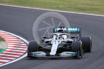 World © Octane Photographic Ltd. Formula 1 – Japanese GP - Practice 1. Mercedes AMG Petronas Motorsport AMG F1 W10 EQ Power+ - Lewis Hamilton. Suzuka Circuit, Suzuka, Japan. Friday 11th October 2019.