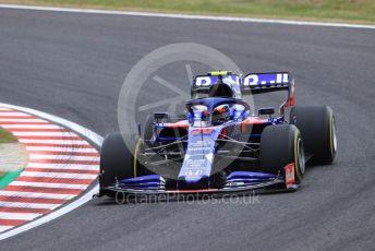 World © Octane Photographic Ltd. Formula 1 – Japanese GP - Practice 1. Scuderia Toro Rosso - Naoki Yamamoto. Suzuka Circuit, Suzuka, Japan. Friday 11th October 2019.