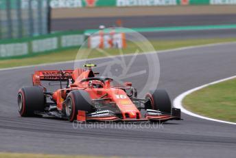 World © Octane Photographic Ltd. Formula 1 – Japanese GP - Practice 2. Scuderia Ferrari SF90 – Charles Leclerc. Suzuka Circuit, Suzuka, Japan. Friday 11th October 2019.