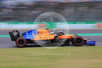 World © Octane Photographic Ltd. Formula 1 – Japanese GP - Practice 2. McLaren MCL34 – Lando Norris. Suzuka Circuit, Suzuka, Japan. Friday 11th October 2019.