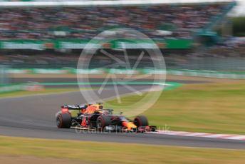 World © Octane Photographic Ltd. Formula 1 – Japanese GP - Practice 2. Aston Martin Red Bull Racing RB15 – Max Verstappen. Suzuka Circuit, Suzuka, Japan. Friday 11th October 2019.