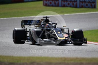 World © Octane Photographic Ltd. Formula 1 – Japanese GP - Qualifying. Haas F1 Team VF19 – Romain Grosjean. Suzuka Circuit, Suzuka, Japan. Sunday 13th October 2019.