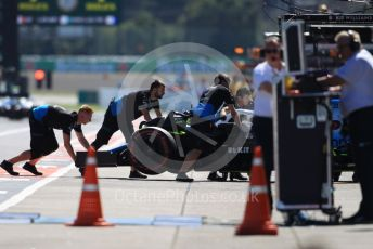World © Octane Photographic Ltd. Formula 1 – Japanese GP - Qualifying. ROKiT Williams Racing FW 42 – George Russell. Suzuka Circuit, Suzuka, Japan. Sunday 13th October 2019.