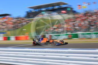 World © Octane Photographic Ltd. Formula 1 – Japanese GP - Qualifying. McLaren MCL34 – Carlos Sainz. Suzuka Circuit, Suzuka, Japan. Sunday 13th October 2019.