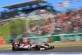 World © Octane Photographic Ltd. Formula 1 – Japanese GP - Qualifying. Alfa Romeo Racing C38 – Antonio Giovinazzi. Suzuka Circuit, Suzuka, Japan. Sunday 13th October 2019.