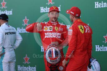 World © Octane Photographic Ltd. Formula 1 – Japanese GP - Qualifying. Scuderia Ferrari SF90 –  Sebastian Vettel and Charles Leclerc. Suzuka Circuit, Suzuka, Japan. Sunday 13th October 2019.