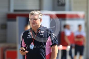 World © Octane Photographic Ltd. Formula 1 - Singapore GP - Paddock. Otmar Szafnauer - Team Principal of SportPesa Racing Point. Suzuka Circuit, Suzuka, Japan. Sunday 13th October 2019.