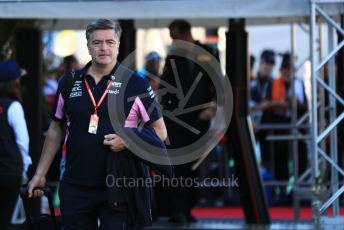 World © Octane Photographic Ltd. Formula 1 - Singapore GP - Paddock. Andy Stevenson – Sporting Director at SportPesa Racing Point. Suzuka Circuit, Suzuka, Japan. Sunday 13th October 2019.