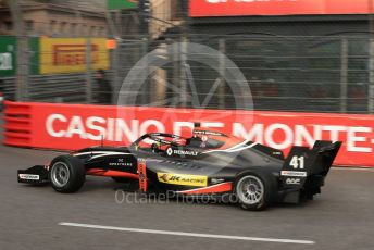 World © Octane Photographic Ltd. Formula Renault Eurocup – Monaco GP - Practice. M2 Competition – Kush Maini. Monte-Carlo, Monaco. Thursday 23rd May 2019.