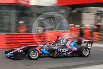 World © Octane Photographic Ltd. Formula Renault Eurocup – Monaco GP - Practice. M2 Competition – Lucas Alecco Roy. Monte-Carlo, Monaco. Thursday 23rd May 2019.