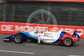 World © Octane Photographic Ltd. Formula Renault Eurocup – Monaco GP - Practice. R-ace GP - Aleksandr Smolyay. Monte-Carlo, Monaco. Thursday 23rd May 2019.
